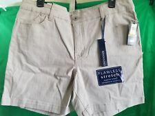 Shorts Tan Stretch Bandolino SZ 14 NEW NWT Orig $ 46.00