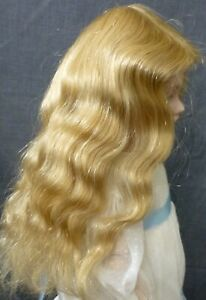 """11""""   HUMAN HAIR DOLL WIG FOR ANTIQUE DOLL, DOLLMAKING, VINTAGE DOLL"""