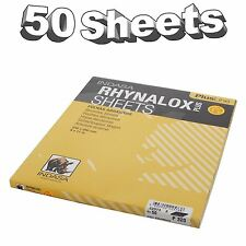 Indasa Rhynalox Plusline Production Paper P320 grit Sand Paper Sheets Pack 50