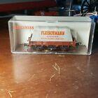 Fleischmann 5569 Tarp Covered Track Cleaning Car HO/OO