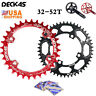 104bcd 32T-52T Bike Chainring + Bolts Round Oval Narrow Wide MTB Chainwheel US