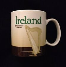 Starbucks Ireland Mug Eire Harp Cliffs of Moher City Icon Coffee Tea New Cup