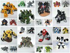 "Transformers Robot Heroes ~ Autobot Decepticon G1 Beast Wars película 2"" figuras"