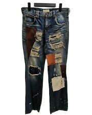 Japanese Brand Bond & Peace Patchwork Boro  Kapital jeans