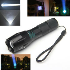 Bright 2000 Lumens Zoomable XML T6 LED Flashlight Focus Torch Lamp 5 Mode