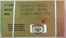 Military MRE 2020 Inspection A Case