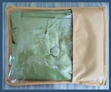 """Tab Top with Buttons Pier 1 Imports, Window Panel Curtain Green 54"""" x 85""""  Drape"""