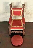 Vintage Take A Seat Raine Miniature Dollhouse Mr Vanderbilt's Chair C.1895 NIB