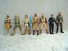 Star Wars Figures Lot Of 7 Luke Skywalker Han Solo And Others