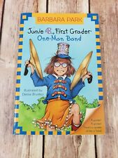 Junie B. First Grader One Man Band by Barbara Park Paperback Book