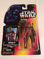 Star Wars The Power of the Force Chewbacca  Action Figure Kenner Vintage 1995