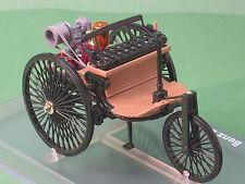 Benz Patent Motorwagen Dreirad 1886 schwarz Rio 1:24 Modellauto Oldtimer