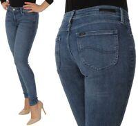 Lee Damen Jeanshose Scarlett Skinny Blau W26 - W31