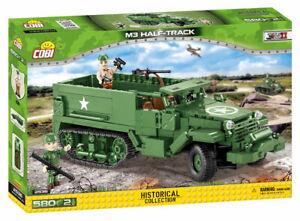 Cobi 2536 - M3 Half-Track Armoured Personnel Carrier (580pcs) - Building Blocks
