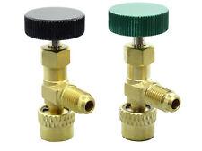 2 Adapter Kältemittelventil Absperrventil Splitt-Systeme 1/4 SAE, 1/4 SAE x 5/16