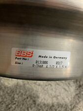 Genuine BBS Motorsport R-TA40 4 1/2x15 Diahes  New- All Straight-never Fitted