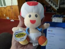 N64 Nintendo super mario 1997 BD&A toad plush doll