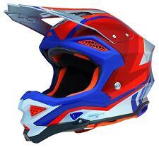 UFO Motocross Helmet Diamond 2019 Silver Red L