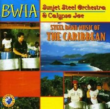 BWIA SUNJET STEEL ORCHESTRA - STEEL BAND MUSIC OF THE CARIBBEAN   CD NEUF