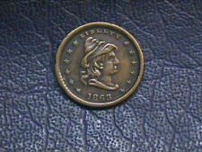 1863 Patriotic Civil War Token Our Army. Free Shipping