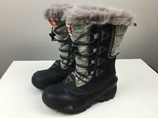 The North Face - Insulated Winter Boots - Girls Size US 2  - Waterproof - Snow -