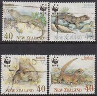 New Zealand - Endangered Species - The Tuatara 1991