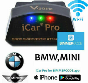 BIMMERCODE BMW Coding Vgate iCar Pro Tool  WiFi iPhone iPad Android