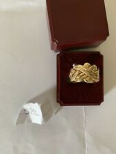 6 Piece 9ct Gold Puzzle Ring