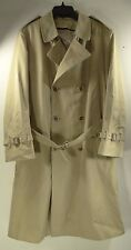 MALCOLM KENNETH TRENCH/DRESS TOP COAT ~ WEATHER CYCLE 65%/35% Polyester Cotton