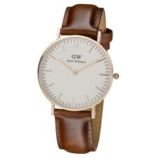 Daniel Wellington Classic St Mawes Rose Gold Brown Leather Ladies Watch 0507DW