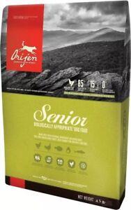 ORIJEN Senior Dry Dog Food (4.5 lb)