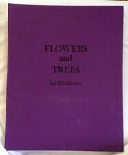 Lee Friedlander Flowers And Trees Signed Photography 40 Gravure Plates 1981