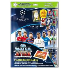 TOPPS MATCH ATTAX CHAMPIONS LEAGUE 2015-16 - NORDIC EDITION STARTER PACK + 2 BOX