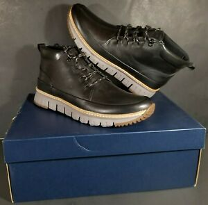 Cole Haan GrandSport Rugged Chukka C31412 Leather Boots Men's Size 11 M