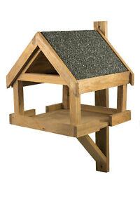 Vogelhaus wetterfest aus Holz, vogelfutterhaus, Futterhaus, Futterstation