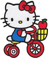 Patch - Hello Kitty - Tricycle Apple Iron On Licensed Gifts Toys  p-hk-0013