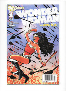 Wonder Woman New 52 #1B 2011 NM- Newsstand DC Comics