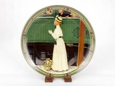 """""""A Mother's Welcome"""" 1986 Collector Plate, Norman Rockwell, Knowles, #3981G"""