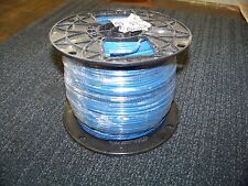 Solid Copper Wire 12 AWG 600V THHN-THWN AWM Blue 500 FT