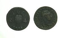 pci3229) Napoli Regno  Ferdinando IV - 4 Cavalli 1791