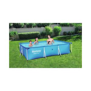 Bestway Detachable Steel Pro Splash Frame rectangular pool frame, BW56404-19