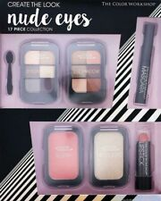 Create Look Nude Eyes Set,17 Piece,Eye shadow,applicator,mascara,lipstick,highli