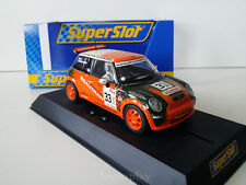 "Slot SCX Scalextric Superslot H2732 Mini Cooper ""Beautran"" Nº33 Mick Beauchamp"