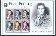 Le Bhoutan 2003 Elvis Presley feuille de 6 timbres neuf sans charnière