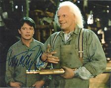 MICHAEL J FOX 'BACK TO THE FUTURE' SIGNED 8X10 PICTURE *PROOF