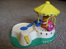 Vintage, Fisher Price Little People #170, Carousel / Record Player, 1980