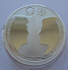 Netherlands 10 Euro 2002 Royal Wedding Silver Proof Coin
