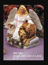 Doc Holliday 1481 Angel Lion Lamb Christmas Holiday Statue Vintage Ceramic Mold