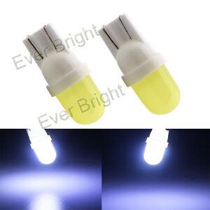 1000Pcs Wholesale White T10 W5W 192 168 COB LED 1SMD 4D Led Light Bulbs 12V DC