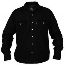 Denim Long Sleeve Western Casual Shirts for Men